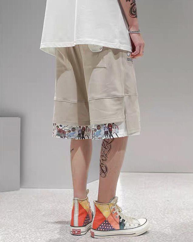 ダブルヘムショートパンツ ハーフパンツ メンズの商品画像3